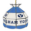 Brigham Young University 16 Inch Handmade Stained Glass Lamp