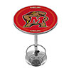 Maryland University Chrome Pub Table