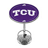 Texas Christian University Chrome Pub Table