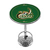 University of North Carolina Charlotte Chrome Pub Table