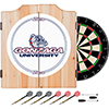 Gonzaga University Dart Cabinet Set with Darts and Board