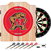 Maryland University Dart Cabinet Set with Darts and Board