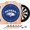 University of Nevada Dart Cabinet Set with Darts and Board