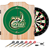 University of North Carolina Charlotte Dart Cabinet Set with Darts and Board