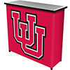 University of Utah? 2 Shelf Portable Bar w/ Case