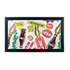 Coca Cola Framed Logo Mirror - Pop Art