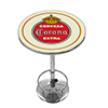 Corona Chrome Pub Table - Vintage