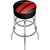 Dodge Padded Swivel Bar Stool - Big Stripe