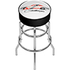 Dodge Padded Swivel Bar Stool - Challenger Stripes