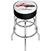 Dodge Padded Swivel Bar Stool - Challenger Stripes 2