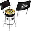 Dodge Swivel Bar Stool with Back - Super Bee