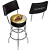 Dodge Bar Swivel Bar Stool with Back - 69 Charger