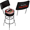 Dodge Swivel Bar Stool with Back - Scat Pack