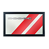 Dodge Logo Mirror - Big Stripe
