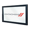 Dodge Framed Logo Mirror
