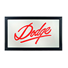 Dodge Logo Mirror - Signature