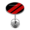 Dodge Chrome Pub Table - Big Stripe