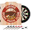 Dodge Dart Cabinet Set with Darts and Board - Scat Pack