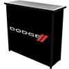 Dodge 2 Shelf Portable Bar with Case