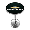 Chevrolet Chrome Pub Table - Chevy Racing