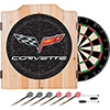 Corvette Model C6 Dart Cabinet with board and darts
