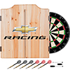 Chevrolet Dart Cabinet Set with Darts and Board - Chevy Racing
