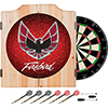 Pontiac Firebird Red Wood Dart Cabinet Set