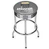 Guinness Chrome Ribbed Bar Stool - Line Art Pint