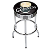 Guinness Chrome Ribbed Bar Stool - Smiling Pint