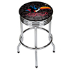 Guinness Chrome Ribbed Bar Stool - Toucan
