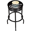 Guinness Black Ribbed Bar Stool - Smiling Pint