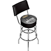 Guinness Swivel Bar Stool with Back - Line Art Pint