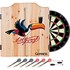 Guinness Dart Cabinet Set with Darts and Board - Toucan