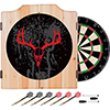 Hunt Skull Wood Dart Cabinet Set