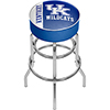 University of Kentucky Chrome Bar Stool with Swivel - Text