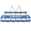 University of Kentucky Handmade Stained Glass Lamp - 40 Inch - White
