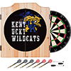 University of Kentucky Wildcats Wood Dart Cabinet Set - Smoke