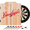 Leinenkugel's Dart Cabinet Set with Darts and Board
