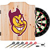 Arizona State University Dart Cabinet Set with Darts and Board