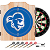 Seton Hall University Dart Cabinet w/ Darts and Board