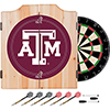 Texas A&M University Dart Cabinet Set with Darts and Board
