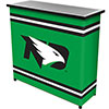 University of North Dakota? 2 Shelf Portable Bar w/ Case