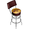 Cleveland Cavaliers 2016 NBA Champions Chrome Bar Stool with Back