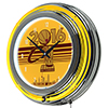 Cleveland Cavaliers 2016 NBA Champions Chrome Double Rung Neon Clock