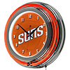 NBA Chrome Double Rung Neon Clock - Fade  - Pheonix Suns