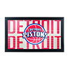 NBA Framed Logo Mirror - City  - Detroit Pistons