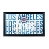NBA Framed Logo Mirror - City  - Los Angeles Clippers