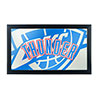 NBA Framed Logo Mirror - Fade  - Oklahoma City Thunder