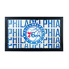 NBA Framed Logo Mirror - City  - Philadelphia 76ers