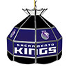 Sacramento Kings NBA 16 Inch Stained Glass Lamp